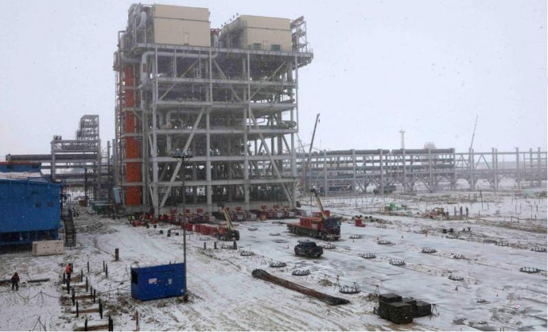 阿米纳高膜厚柔性抗刮聚酯彩涂板顺利交付俄罗斯北极亚马尔项目