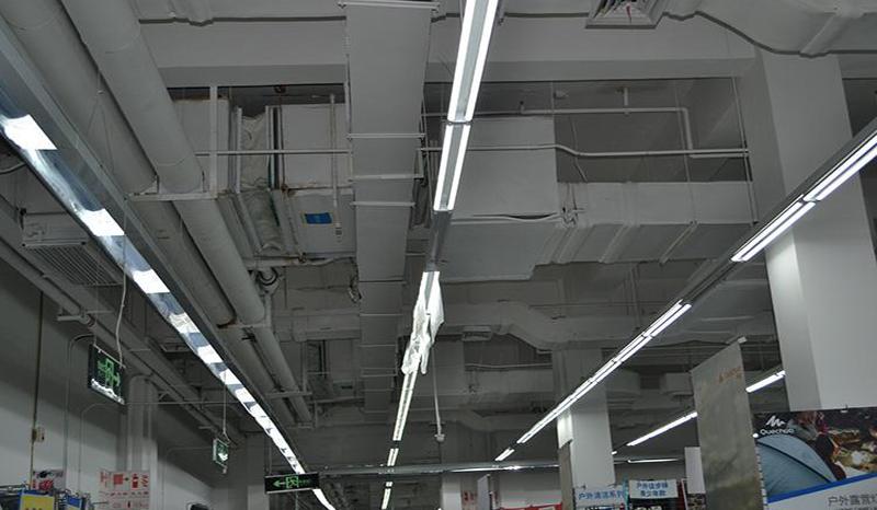 空调通风管道彩涂板应用案例