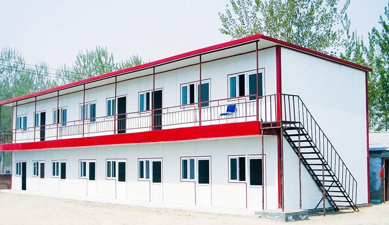 活动房&临时建筑彩涂板应用案例