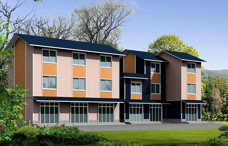 民用住宅彩涂板应用方案
