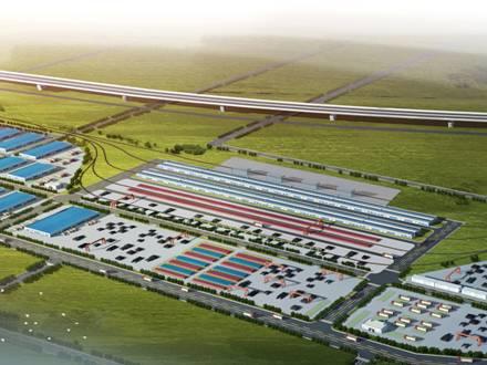 """服务""""一带一路"""",阿米纳彩涂板应用于二连浩特进口粮油加工园工程"""