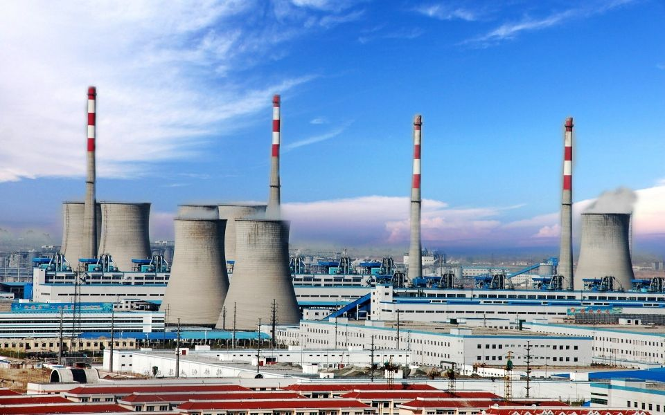 阿米纳氟碳彩涂板应用于魏桥集团铝电厂