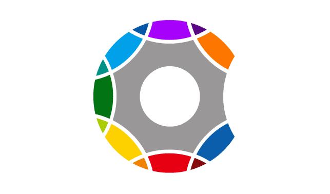 微信logo彩色