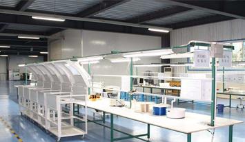 阿米纳PE聚酯彩涂板应用于标准车间