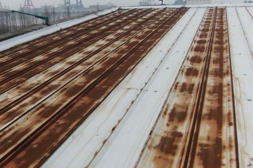 阿米纳支招:屋面彩钢板生锈了怎么办?